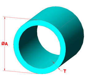 Round Tube Shape