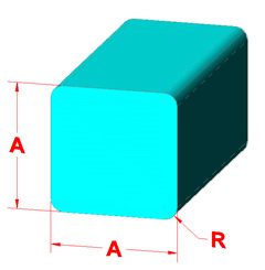 Square Bar Shape